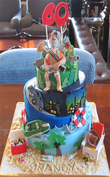 60th Birthday Cake Scrumptions