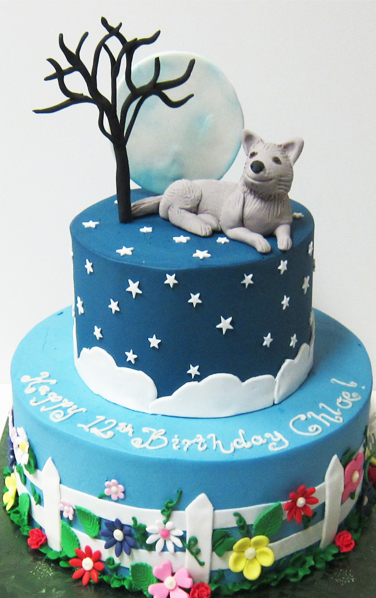 Cake Topper With Moon