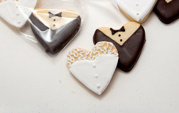 Bride & Groom Cookies