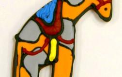 Circus Giraffe Cookie