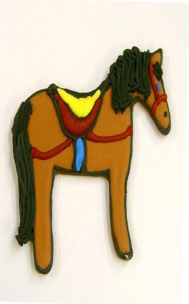 Circus Horse Cookie