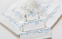 English Bone China Wedding Cake Cookies