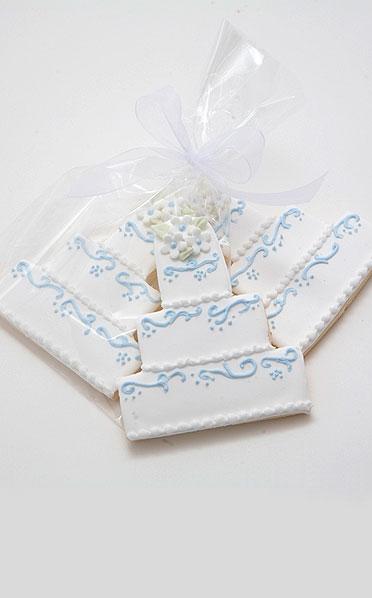 English Bone China Wedding Cake Cookies