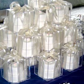 Miniature Wedding Cake Favors