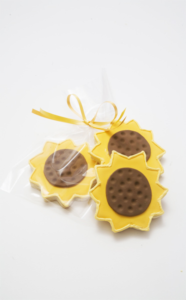 Sunflower Cookie