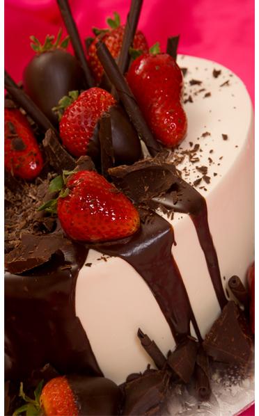 White Chocolate Raspberry Torte-1