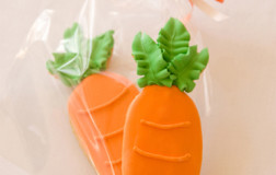 Carrot Butter Cookie Favors