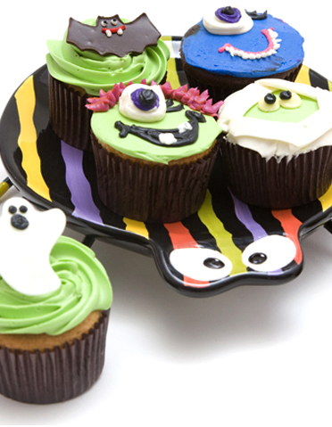 Frightful Cupcakes