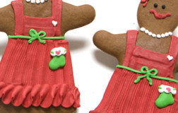 Gingerbread Girl Cookies