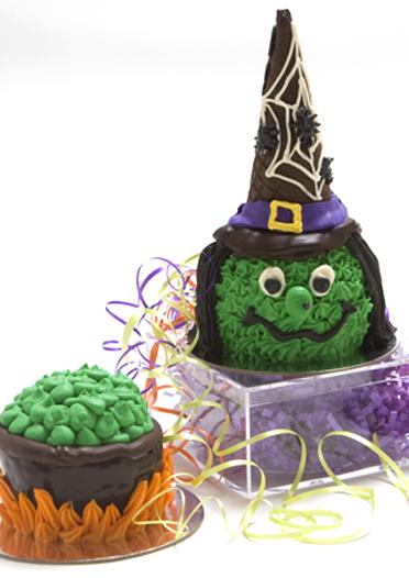 Individual Halloween Desserts