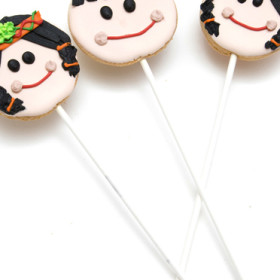 Native American Indian Cookie Pops