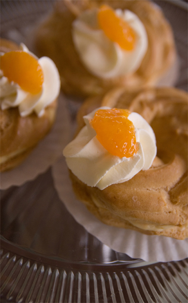 Orange Creamsicle Zeppoles