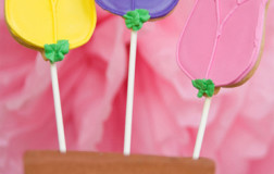 Tulip Cookie Pops