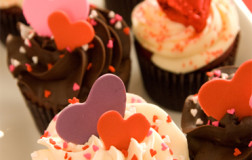 Valentine's Themed Cupcakes