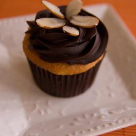 Almond Joy Cupcake