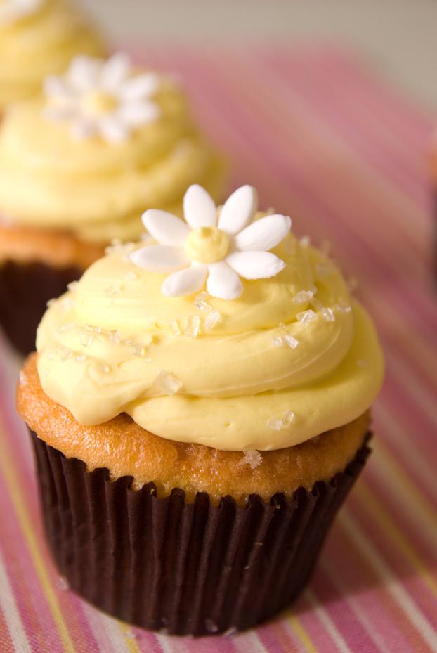 Lemon Burst Cupcake
