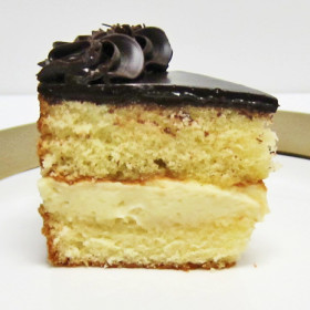 Boston Cream Slice