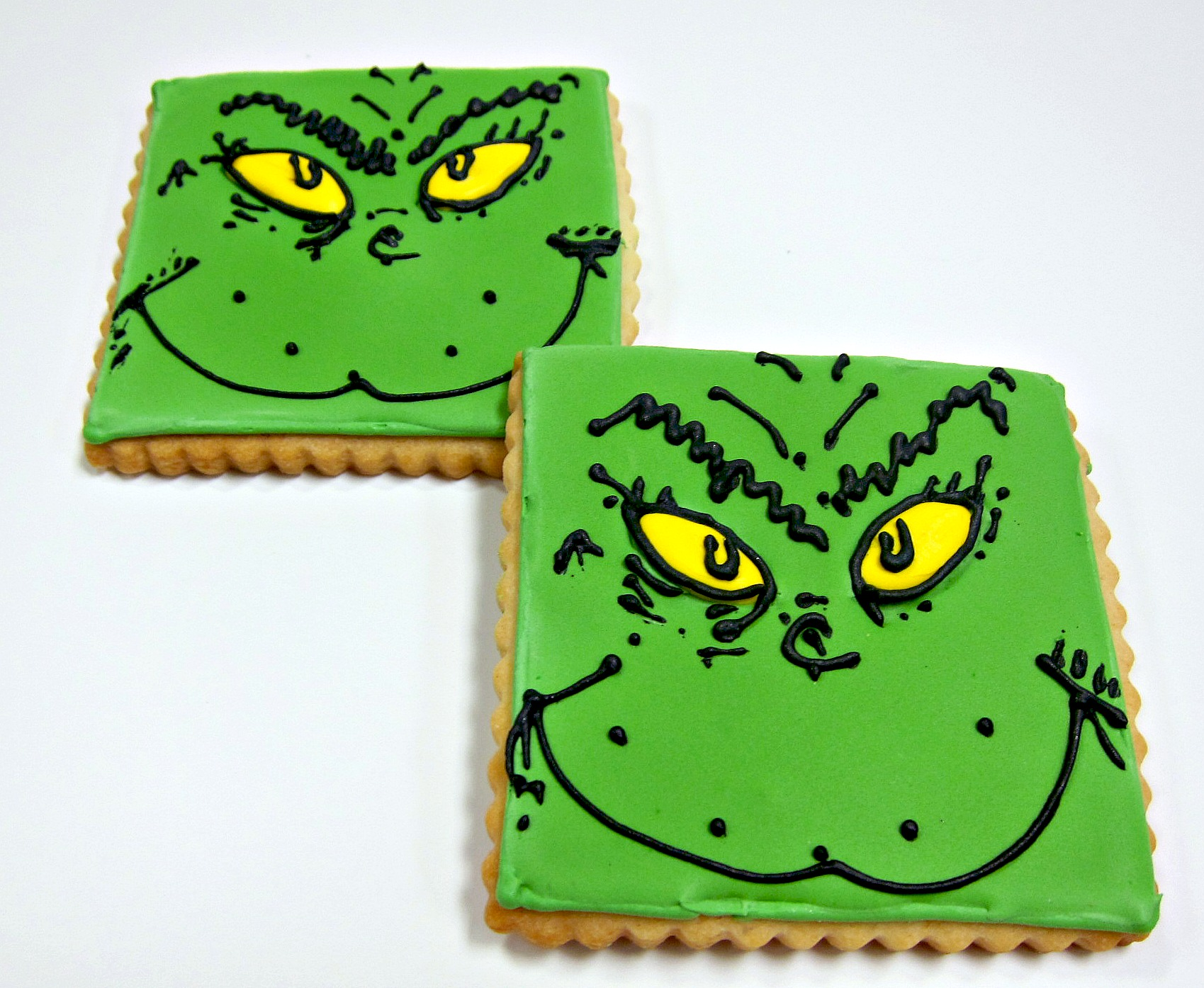 Dr. Suess Cookies