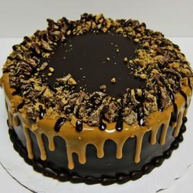 Peanut Butter Mousse Torte