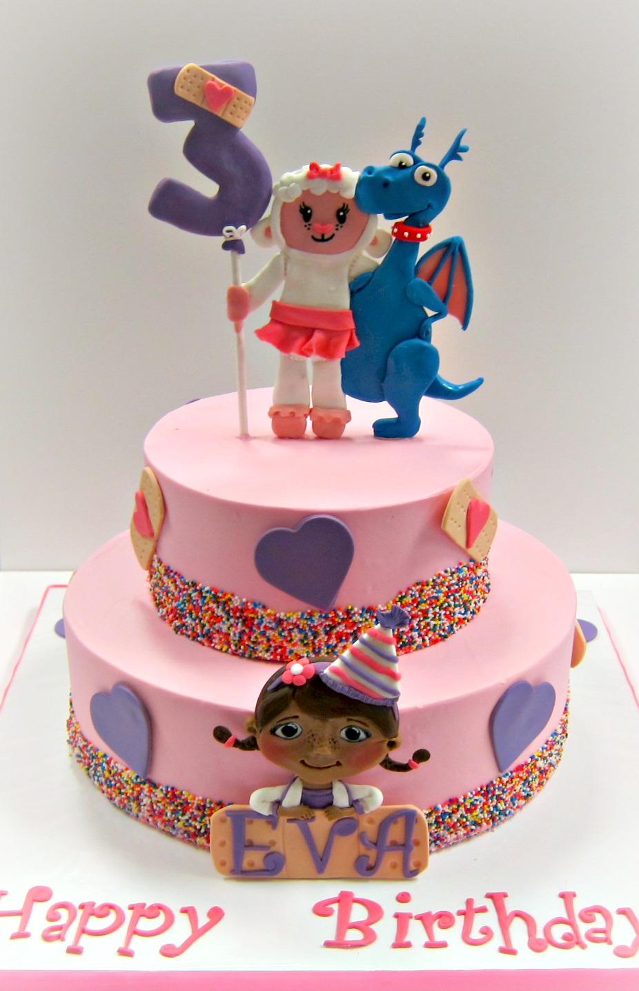 Doc Mcstuffins Birthday Cake Scrumptions