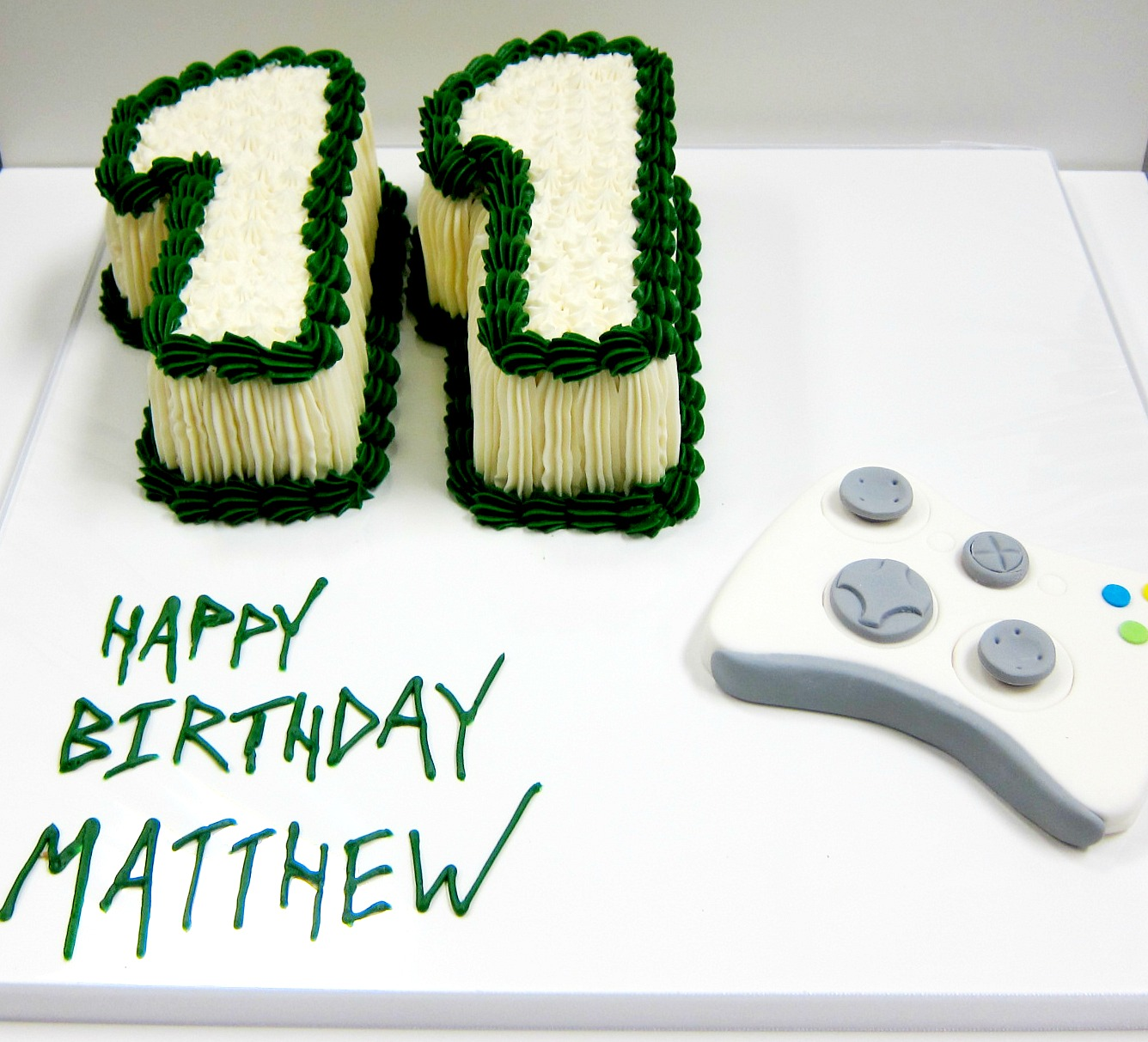 Number 11 Cake
