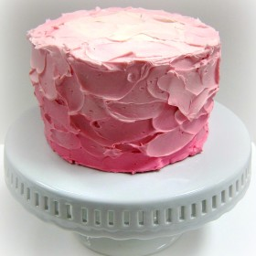Spackled Pink Cake
