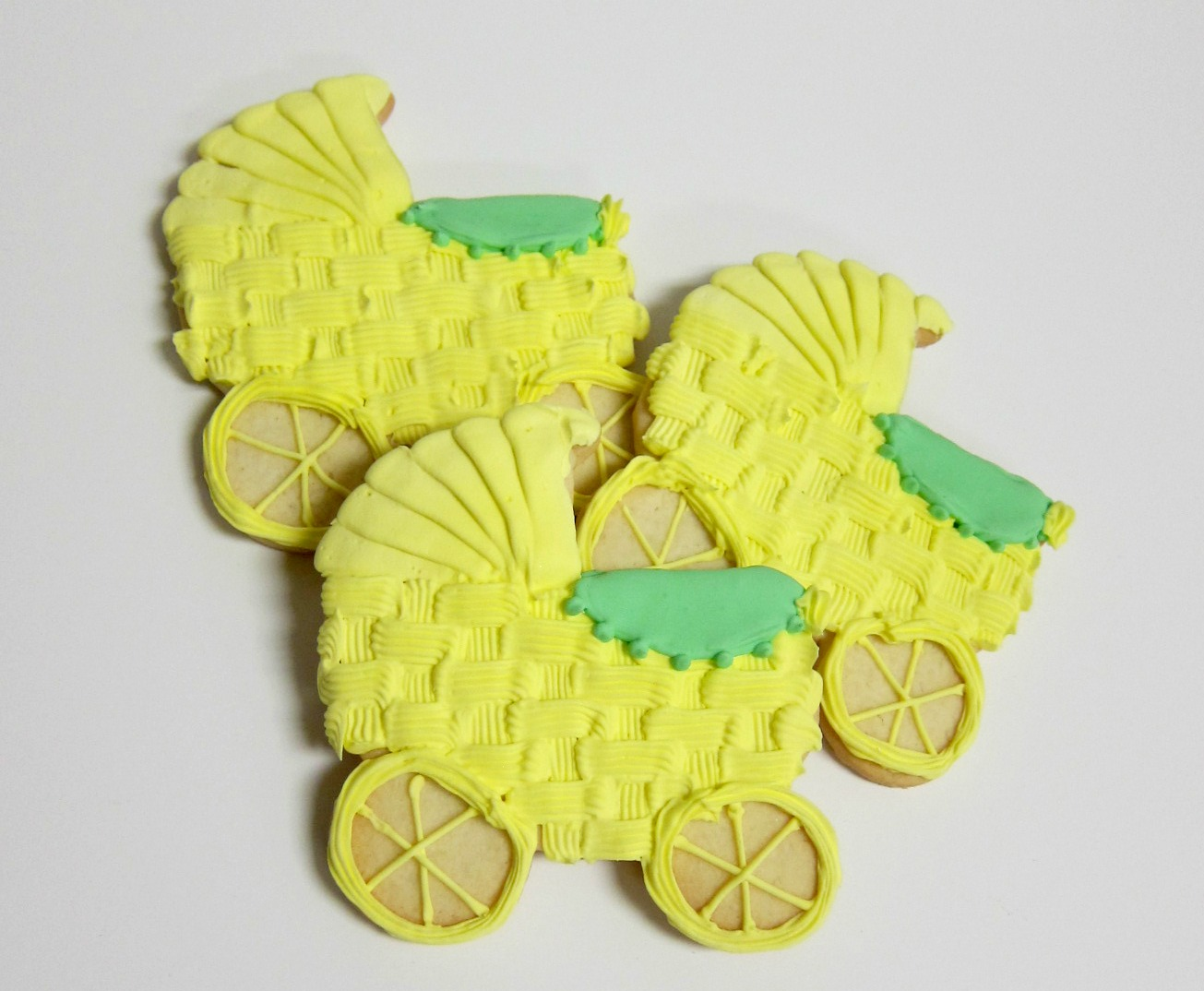 Yellow Carriage Cookies