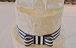 small spackle wedding cake