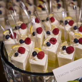 Lemon Mousse Cheesecake Shooters